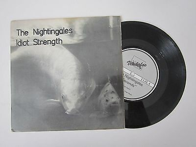 "THE NIGHTINGALES Idiot Strength / Seconds 1981 VINDALOO/ROUGH TRADE 7"" VINYL"
