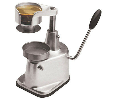 NEWHamburger Patty Press 100mm Diameter - Bench Top Unit