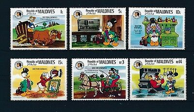 D127447 Disney Cartoons Donald Duck Doctor Knowall MNH Maldives