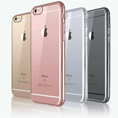 15pcs Wholesale Crystal Clear Case Soft TPU Shockproof Cover For iPhone 7 Plus