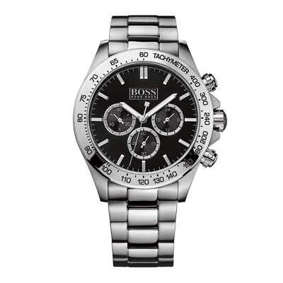 Hugo Boss Men's Stainless Steel Ikon Chronograph Watch, Tachymeter 1512965