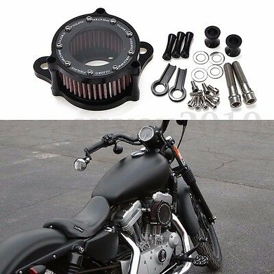 Filtre À Air Intake Admission Pour Harley Sportster XL 883 1200 04-15 2004-UP