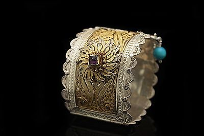 Antique Original Filigree Ottoman Amazing  Islamic Traditional Belt