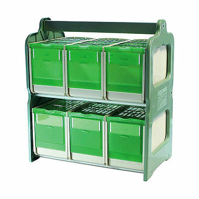 Pet Ting 6 Compartment Carry Case Travel Cage Finch Canary Budgie etc.