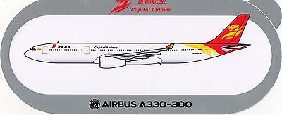 Sticker Airbus A330-300 / Capital Airlines