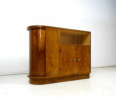 Original Art Deco Bar Möbel Kommode Antik Furnier 1930 Frankreich
