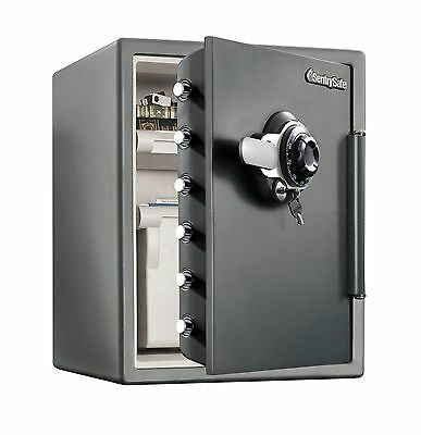 Water Resistant Combination Security Safe with Dial / Combination/Key/Dual-Lock