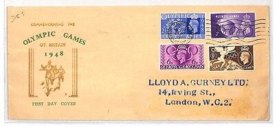 BH235 1948 GB Olympic Games FDC