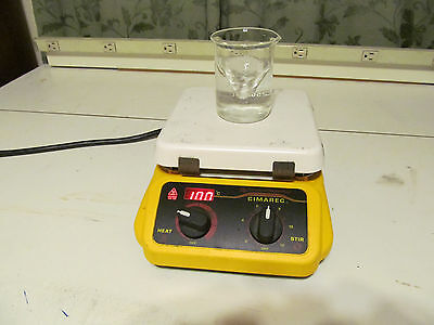 cimarec hot plate stirrer Great condition lab equipment magnetic stirrer