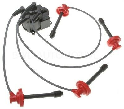 BWD CHU401 Spark Plug Wire Set - Sure Spark Wire Set with distributor cap