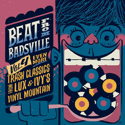 """Various Artists - Beat from Badsville 4: Even More Trash [New Vinyl LP] 10"""""""