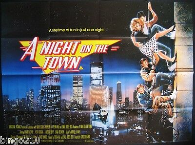 A Night On The Town Aka Adventures In Babysitting Original 1987 Quad Poster