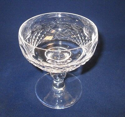 "Vtg Waterford Glass Crystal Colleen Champagne/Tall Sherbet 4 3/8""  from Ireland"