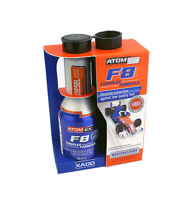 Xado AtomEX F8 COMPLEX Diesel Engine Protection - Additive From Low Quality Fuel