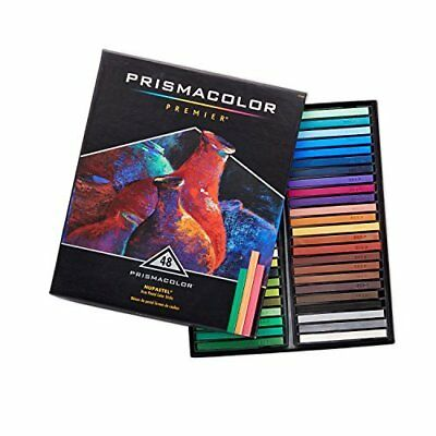 Prismacolor NuPastel Firm Pastel Bright Color Art Sticks 48 Count