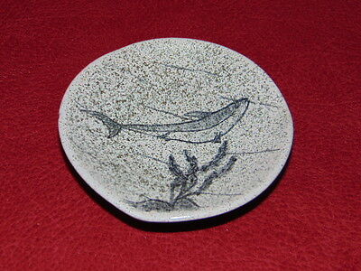 Lorenzen Pottery dish with Fish Lantz Nova Scotia