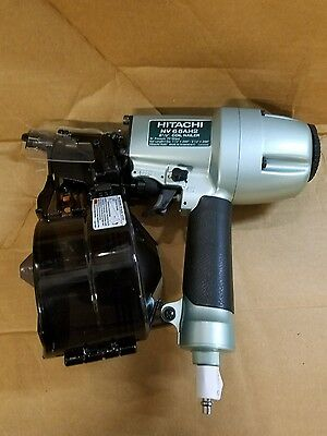 "New Hitachi Nv65Ah Pneumatic 2 1/2"" Coil Siding Nailer"
