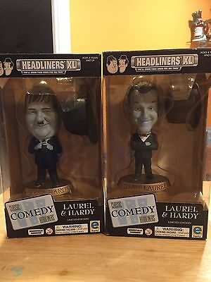 Laurel & Hardy 2000 Headliners XL Limited Edition Classic Comedy Headliners