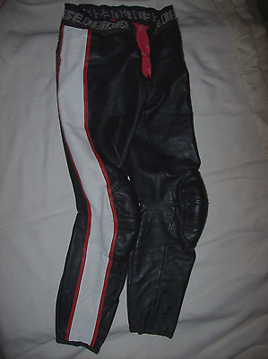Dainese mens Motorcycle Leather Pants 50