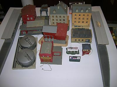KATO / POLA / Etc. N Scale Buildings used mixed lot lot # 10970