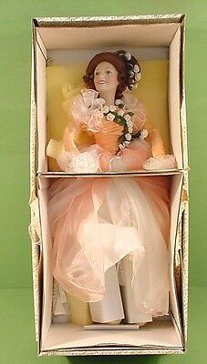 Franklin Heirloom~The Gibson Girl Bridesmaid Doll~Sonia The Rose Princess~In Box
