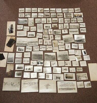 Huge Lot of 119 WW2 Photographs from Alaska with Negatives