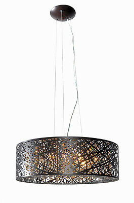 ET2 Contemporary Lighting E21308-10BZ Inca Pendants Bronze