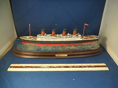 The Danbury Mint Titanic Ship Limited Edition Sculpture Only ONE On Ebay
