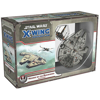 Star Wars X-Wing Heroes of the Resistance - Fantasy Flight Games - New Miniature