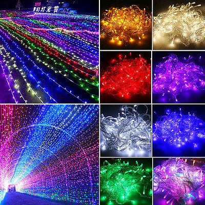 20M/30M/50M/100M Christmas Garden Party Wedding LED Starry String Fairy Lights