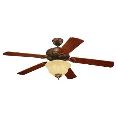 Monte Carlo Fan Company 5OR52TBD-L Ornate Elite Indoor Ceiling Fan Tuscan Bronze