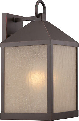 Nuvo Lighting 62/662 Haven LED 17 inch Mahogany Bronze Outdoor Wall Light