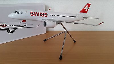SWISS International Air Lines | BOMBARDIER CS100 | Maßstab 1:100 | NEU!