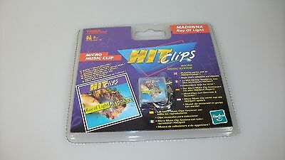 Hit Clips Micro Music Clip Chip Hasbro Tiger Electronics Madonna Ray Of Light