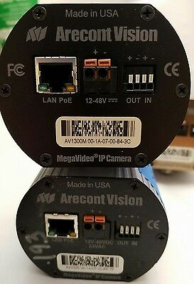 Arecont AV1305 1.3 MP Megapixel H.264 IP Camera with 4-10 mm lens included CCTV