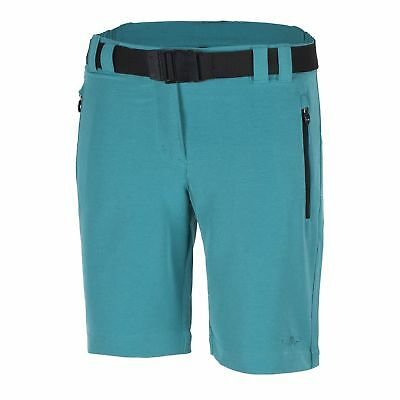 CMP Walkshort Functional pants Tracksuit bottoms blau Belt Stretch UV protection