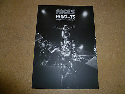 FACES 1969-75 Ronnie Wood Ian McLagan Kenny Jones Genesis Publications Promo