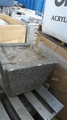 Concrete Ash Urn Outdoor Cigarette Ashtray