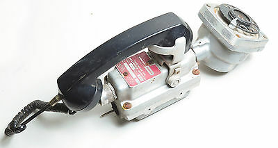 Rare Crouse-Hinds Twa-7 Rotary Telephone For Hazrdous Locations, Explosion Proof