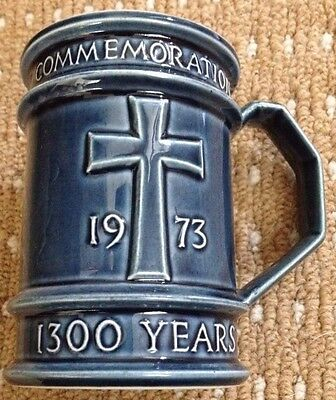 Holkham Pottery North Elmham 'The First 1300 Years' Commemorative Mug Tankard