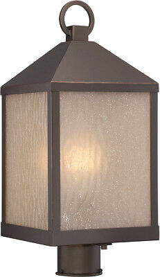 Nuvo Lighting 62/664 Haven LED 20 inch Mahogany Bronze Post Light