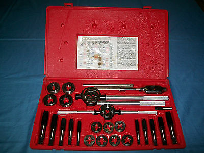 Snap-on 14 to 24 mm 25-pc Tap and Die Set TDM99117A in Case ExC
