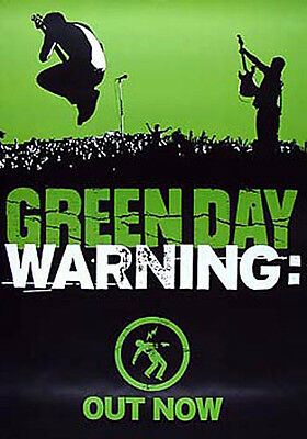 Scarce Green Day Warning Promo Poster