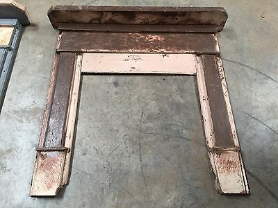 antique fireplace mantel