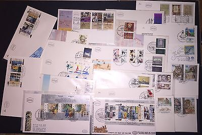 ISRAEL 1992 First Day Covers Lot of Tweny-Three (23)