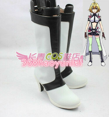 New!CROSS ANGE Ange Salia Ersha Hilda Vivian cosplay shoes Boots Custom Made
