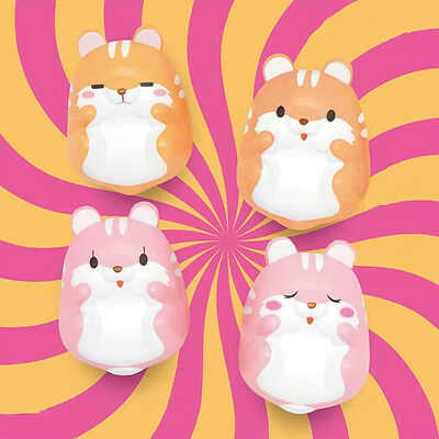 Squishy Fun Pom Pom Hamster Slow Rising Toy Squeeze Relieve Anxiet kids Gift