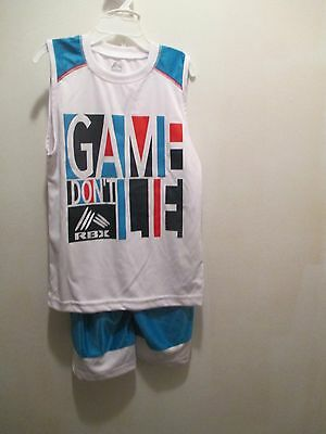 Game Don't Lie Boys size 5 6 2 piece short tank set NWT RBX
