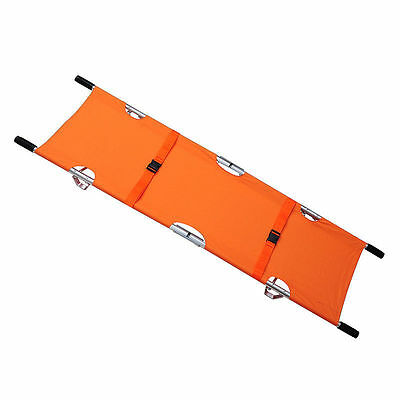 Folding Stretcher Aluminum Alloy Medical Emergency Equipment Portable