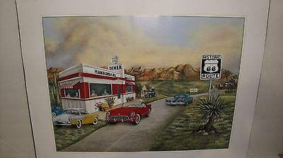 "2 SCAFA ART Coca Cola Litho Prints 16"" x 12"" Prints were Photographed Seperately"